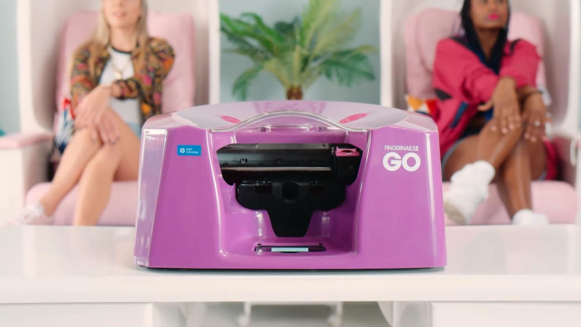 countertop nail printer video